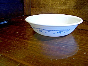 Vintage Corelle Morning Blue Fruit/dessert Bowl
