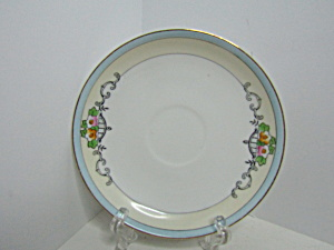 Vintage Meito China Angelus Saucer