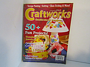 Magazine Craftworks Creative Fun For Everyone Feb. 1999 (Image1)