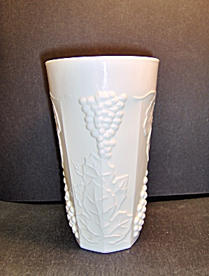 Milk Glass Harvest 10oz.tumblers By Colony