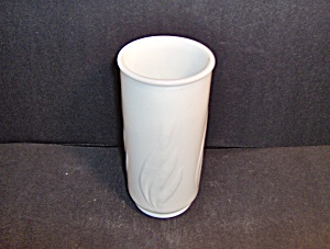 Milk Glass Footed Vase