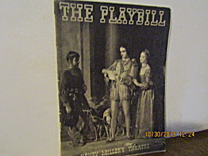 Vintage Henry Miller's Theatre The Playbill