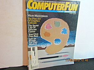Vintage Magazine Computer Fun Formerly Electronic Fun