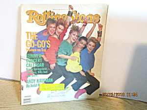 Vintage Rollingstone Magazine Issue #425 July 5th 1984