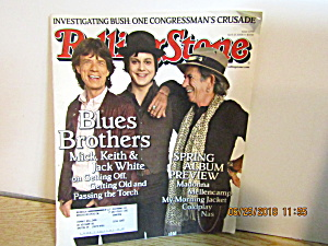 Vintage Rollingstone Magazine Issue #1050 April 17 2008