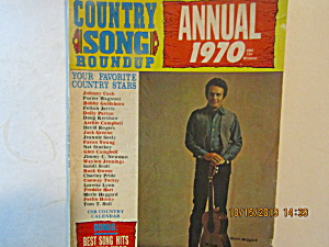 Vintage Country Songs Roundup Magazine Annual 1970