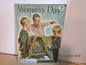Vintage Woman's Day Magazine May 1945