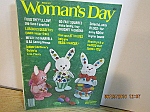 Vintage Woman's Day Magazine March 1975