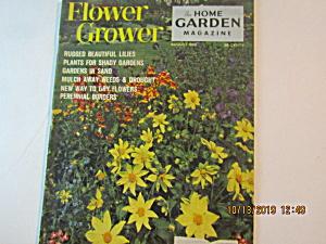 Vintage Flower Grower The Home Garden Magazine Aug 1962 (Image1)