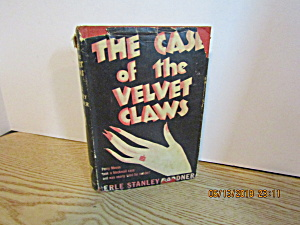 Vintage Mystery Book The Case Of The Velvet Claw