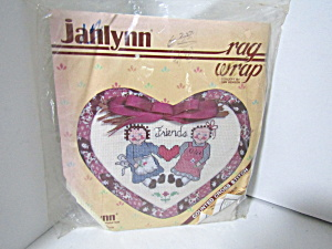 Janlynn Rag Wrap Counted Cross Stitch Kit Friends