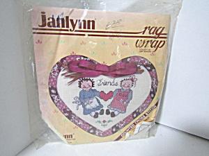 Janlynn  Rag Wrap Counted Cross Stitch Kit Friends (Image1)