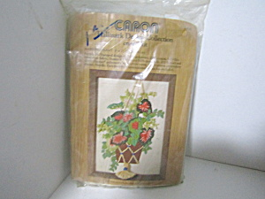 Caron Hallmark Collection Hanging Plant Crewel Kit
