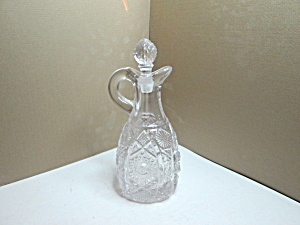 Vintage Acg Decorative Glass Cruet