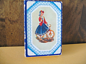 Vintage Nouvelle Lady Playing Cards (Image1)
