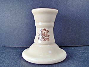 Pfaltzgraff Brown Village Candle Holder