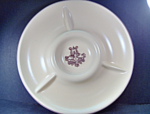 Pfaltzgraff Brown Village Relish Server Dish