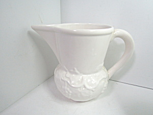 Vintage Bordallo Pinheiro White Grape Water Pitcher