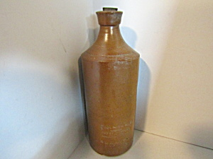 Vintage Stoneware Bottle J Bourne & Son Bottle