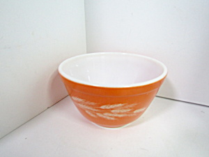 Vintage Pyrex Autumn Harvest Small Stacking Bowl