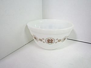 Vintage Corning Pyrex Mixing Town & Country Bowl