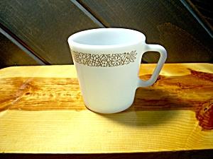 Vintage Pyrex Coffee Cup in Woodland Brown (Image1)
