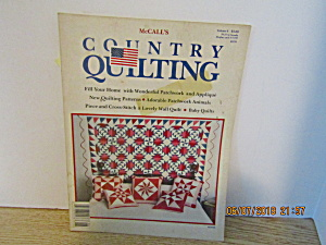 Vintage Magazine Mccall's Country Quilting Vol. 6