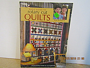 Vintage Craft Book Basic Guide To Rotary Cut Quilts