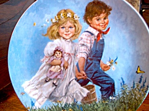 Jack And Jill Mother Goose Plate