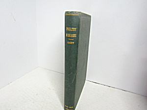Vintage Book Poultry Diseases & Diseases Of Other Birds