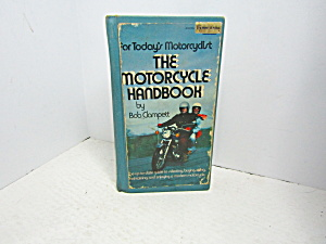 Vintage Book The Motorcycle Handbook By Clampett