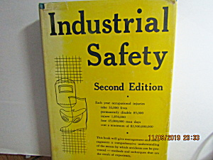 Vintage Book Industrial Safety Second Edition