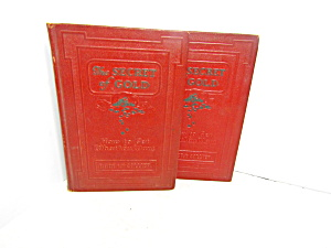 Vintage Book Set The Secret Of Gold