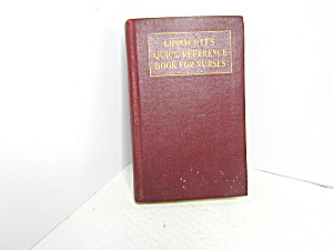 Vintage Lippincott's Quick Reference Book For Nurses