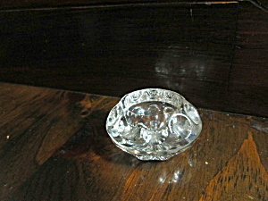 Vintage One Round And One Oval Salt Cellars