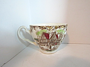 Johnson Bros Haritage Hall Scene Tea Cup