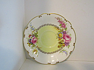 Vintage Decorative Foley Bone China Saucer