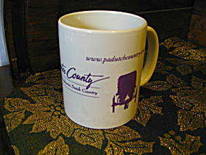 Collectible Coffee Cup Lancaster County Coffee Mug