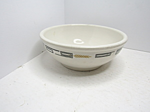 Vintage Syracuse China Yellow Wheat Cereal Bowl