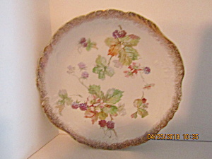 Vintage Sevres Berry Bush Dinner Plate