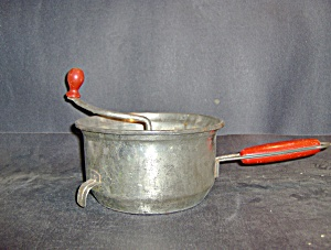 Foley Vintage Red Handle Food Mill