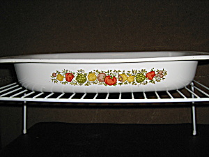 Vintage Corning Ware Large Roaster Spice Of Life