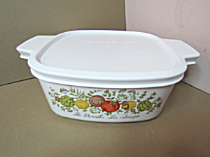 Corning Spice Of Life 1.5 Qt. Covered Casserole
