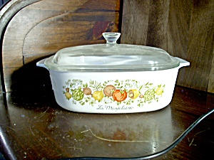 Corning Ware Spice Of Life Casserole