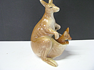 Vintage Salt And Pepper Shakers Kangaroo & Joey