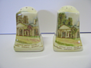 Royal Winton Little White House Salt & Pepper Shaker