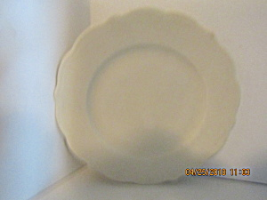 Vintage Syracuse Restaurant China Off White Plates