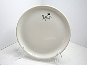 Vintage Syracuse China Horse Decal Dessert Plate