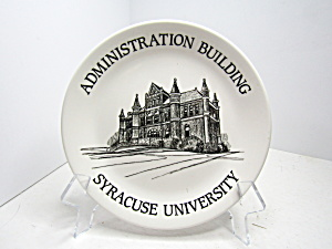 Syracuse China University Administration Building Plate