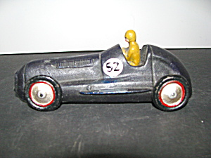 Vintage Cast Iron Speed Racer No. 52 Car